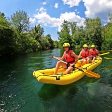 Rafting adventure on Cetina river - Cetina Adventure