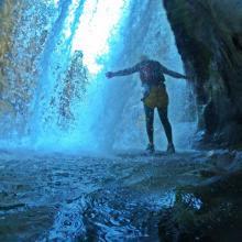 Canyoning adventure on Cetina river, Croatia